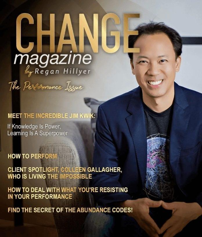 Change Magazine   Regan Hillyer